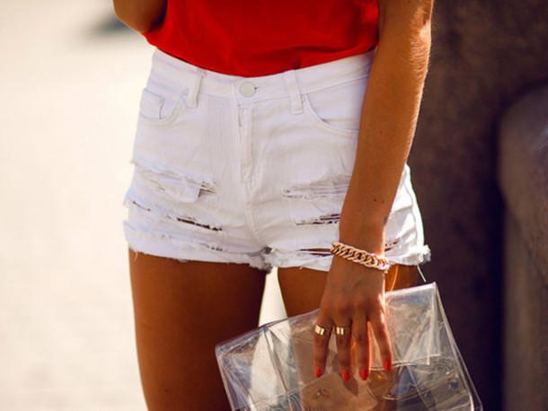 shorts white hot pants cute girly