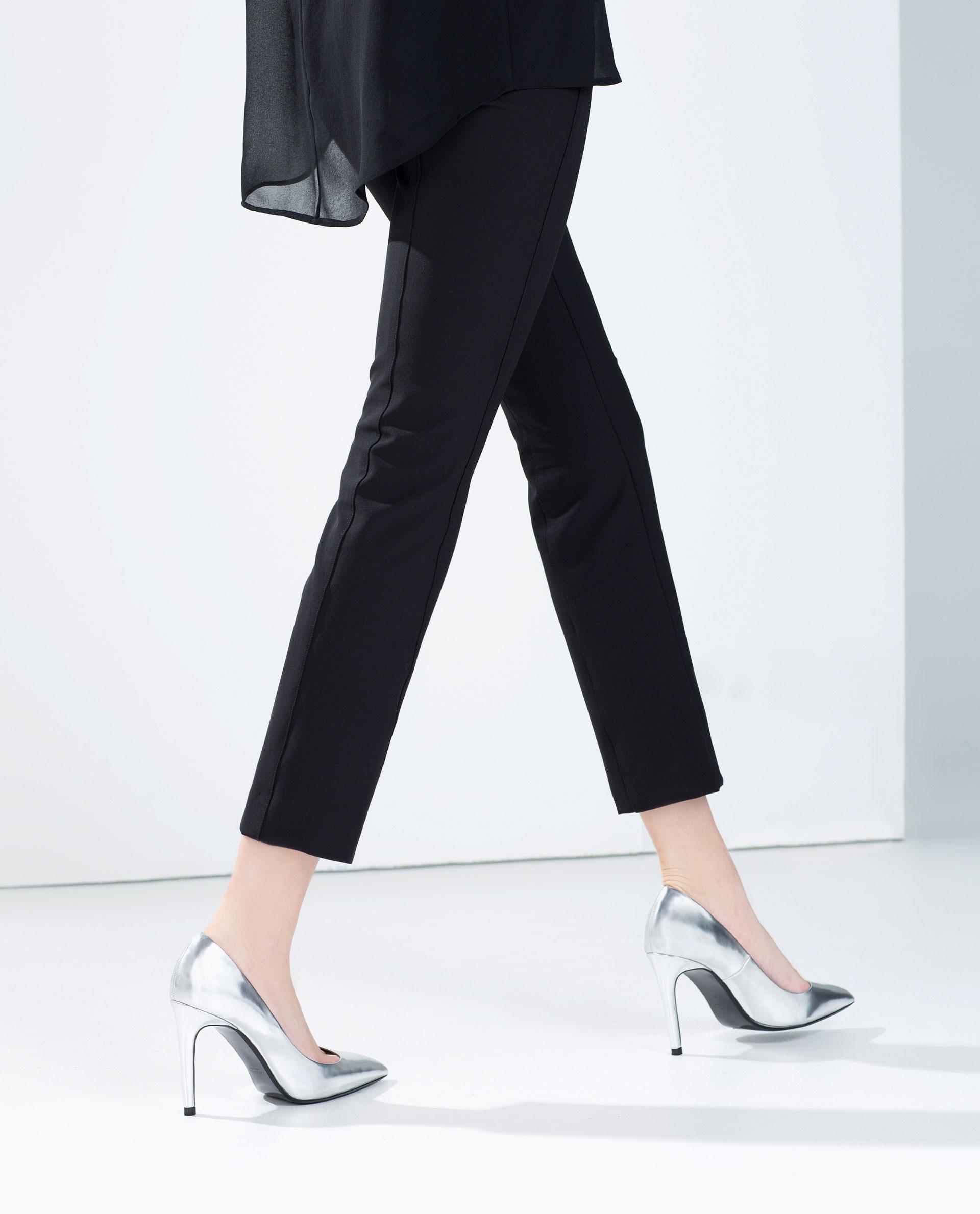 21c66b851f9 LAMINATED HIGH HEEL COURT SHOE - High - heels - Shoes ...