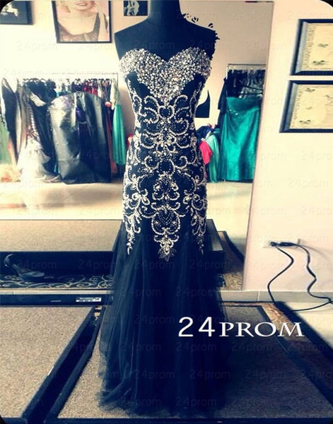 Line sweetheart neckline long prom dresses, evening dresses