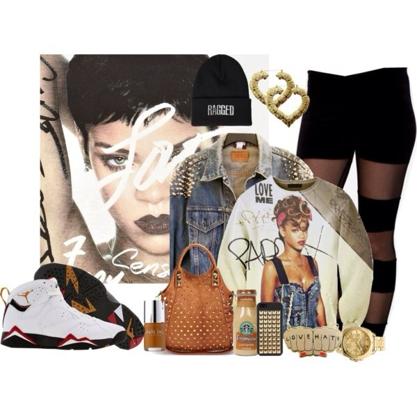 jacket rihanna sweater pants shoes