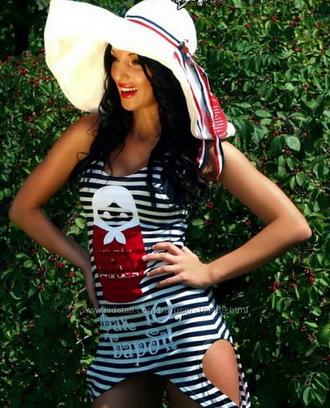 dress striped dress t shirt print