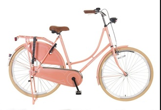 home accessory bike salmon