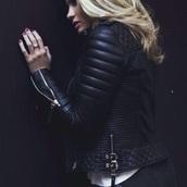 coat,leather jacket,girly,fashion vibe,fashion toast,tumblr,tumblr outfit
