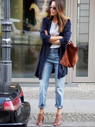nina @ www.helloshopping.de - it's a blog. blogger shoes coat sweater bag