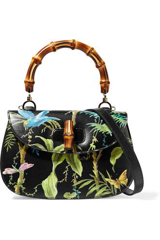 classic bag shoulder bag leather black green