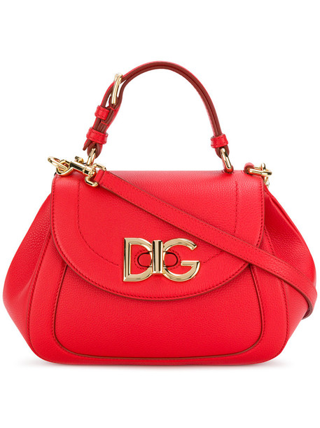 Dolce & Gabbana women wifi bag shoulder bag leather red