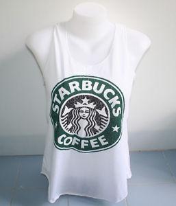 Sexy tank top singlet vase s free shipping starbucks coffee shirt women