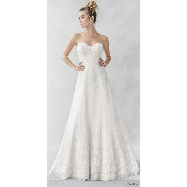 dress wedding dress ivory dress