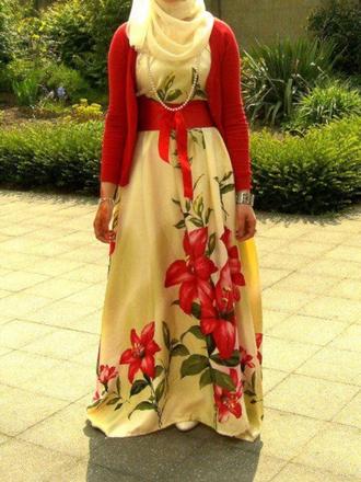 ribbon floral dress maxi dress