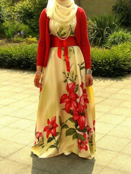 ribbon floral dress maxi dress