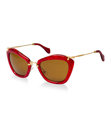 Miu Miu Sunglasses, MU 10NS - Sunglasses - Macy's