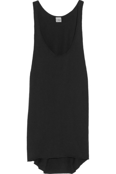 OAK | Draped cotton-jersey tank | NET-A-PORTER.COM