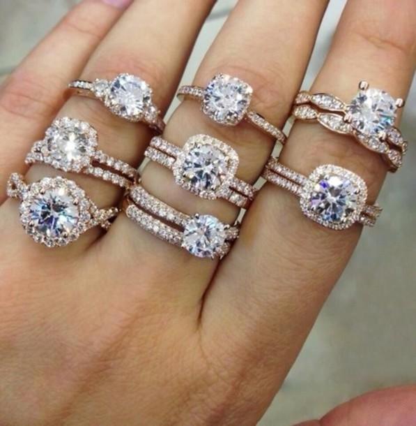jewels ring diamonds diamonds jewelry gold jewelry white