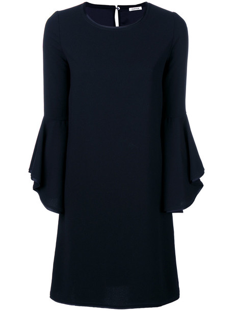 dress shift dress women blue