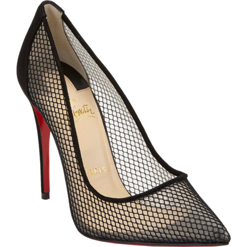 Christian louboutin follies resille pumps at barneys.com