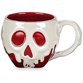 Amazon.com | Disney Poisoned Apple Sculptured Mug Snow White and the Seven Dwarfs: Coffee Cups & Mugs