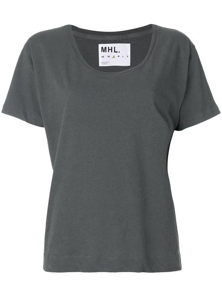 t-shirt shirt t-shirt women cotton grey top