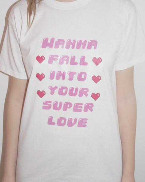 t-shirt cute pink tumblr weheartit grunge grunge cute