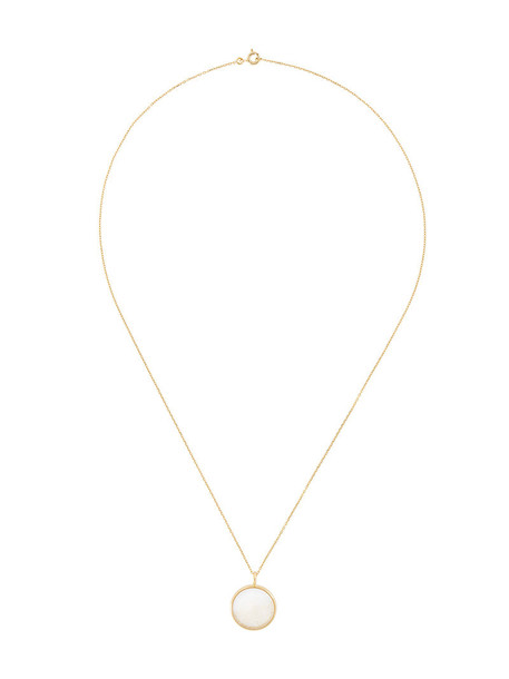 AURELIE BIDERMANN women necklace gold yellow grey metallic jewels
