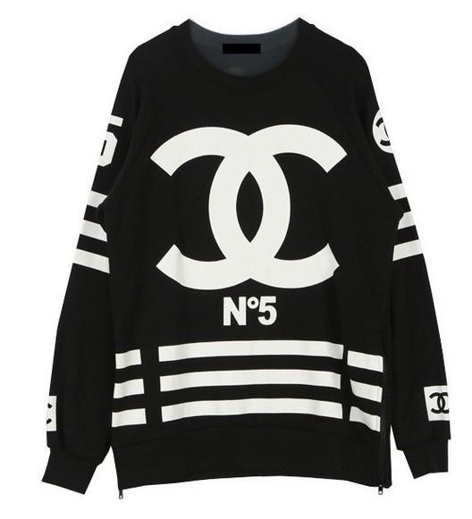 Chanel coco black