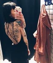 dress,black dress,black,boho dress,maxi dress,prom dress,cute dress,lace dress,summer dress,maxi,lace,backless dress,backless,open back,cute,sweet,tattoo,nightwear,classy,classy dress,grunge,urban,jacket