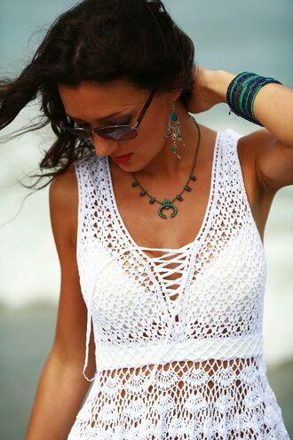 top crochet crochet top crochet crop top lace up