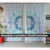 home accessory,curtains,beaded door curtains,shower curtain,wall curtains,wholesale mandala curtains,boho mandala tapestry
