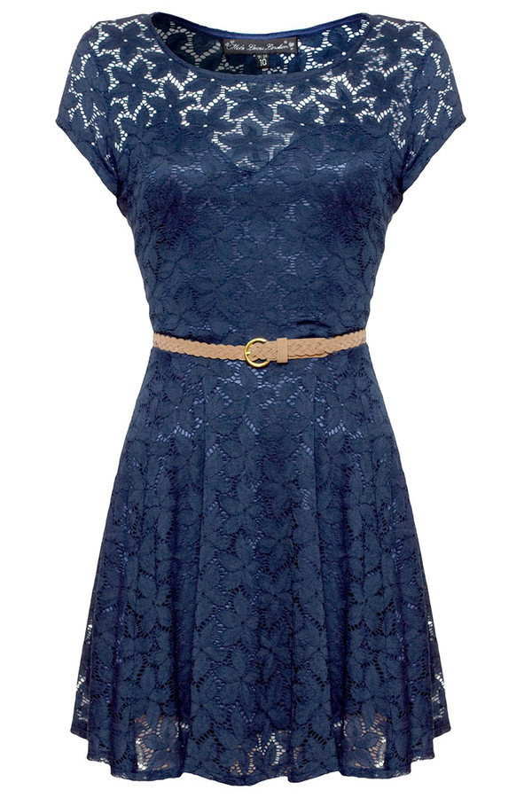 dress lace dress dress with belt
