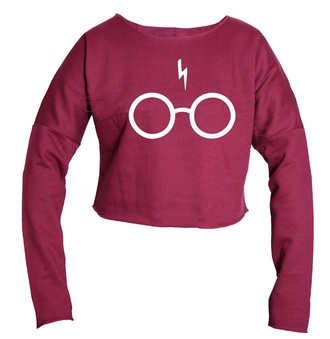 top crop tops cropped cropped sweater harry potter harry potter and the deathly hallows