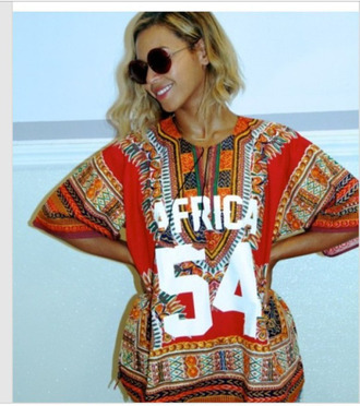shirt beyonce aztec
