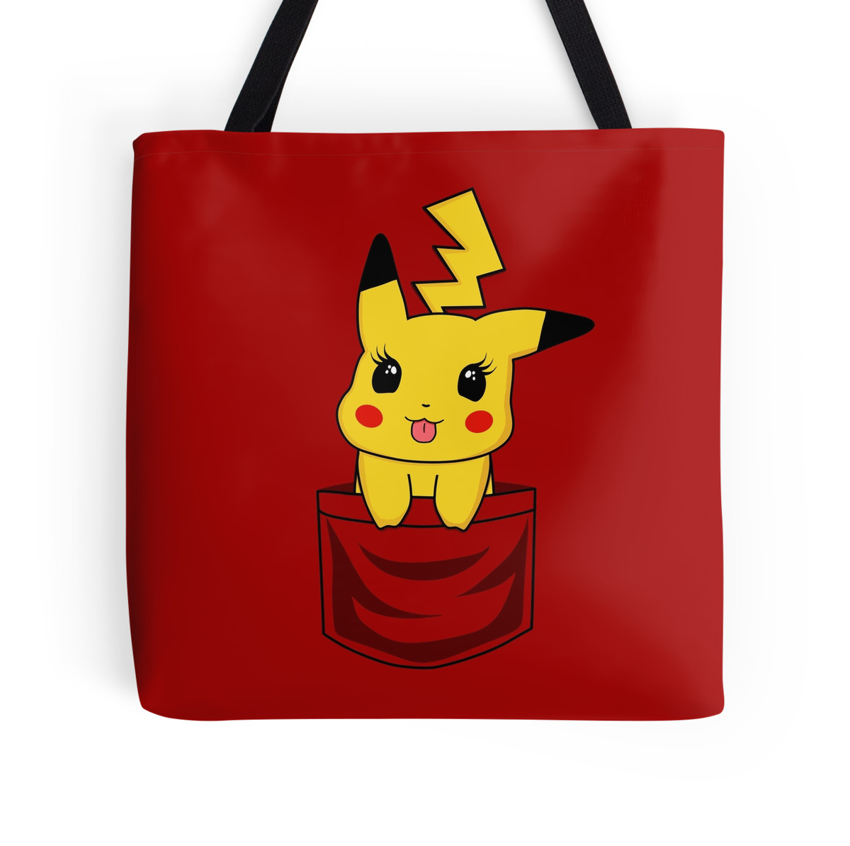 """girly pikachu pocket"