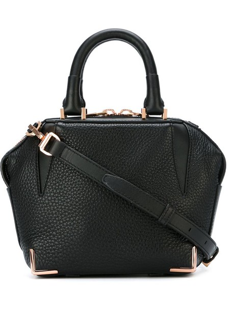 Alexander Wang women leather black bag