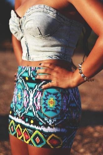 skirt tribal skirt
