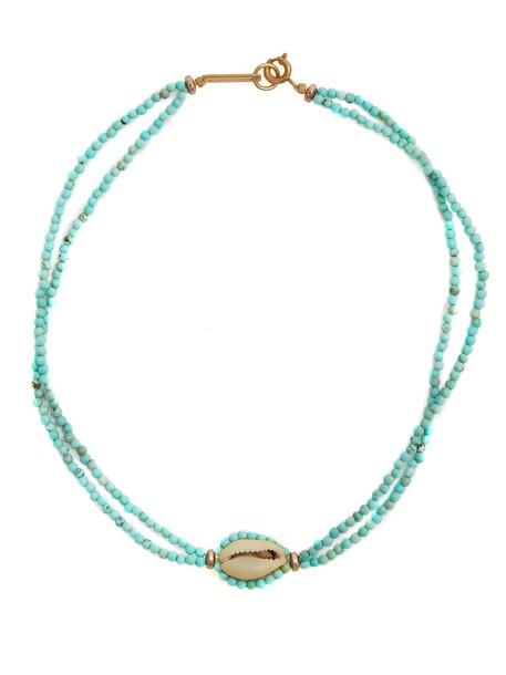 Isabel Marant beaded green jewels