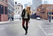 cheyenne meets chanel,jeans,sweater,jacket,shoes