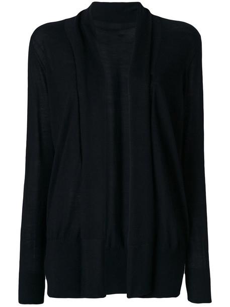 Sottomettimi - long cardigan - women - Wool - S, Black, Wool