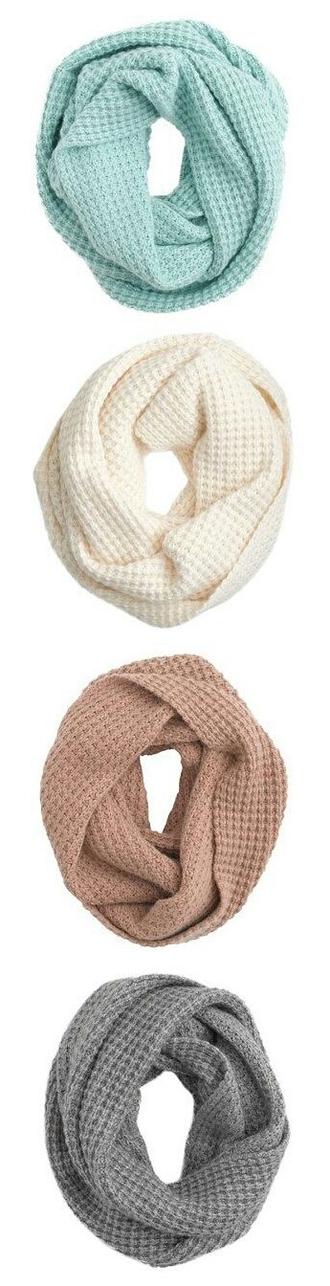 scarf waffle knit waffle scarf j. crew