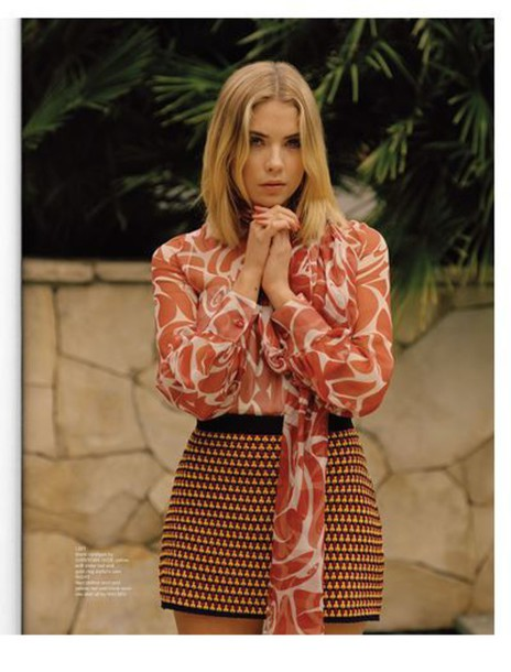 blouse ashley benson skirt