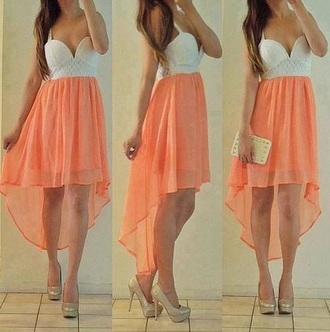 dress high low