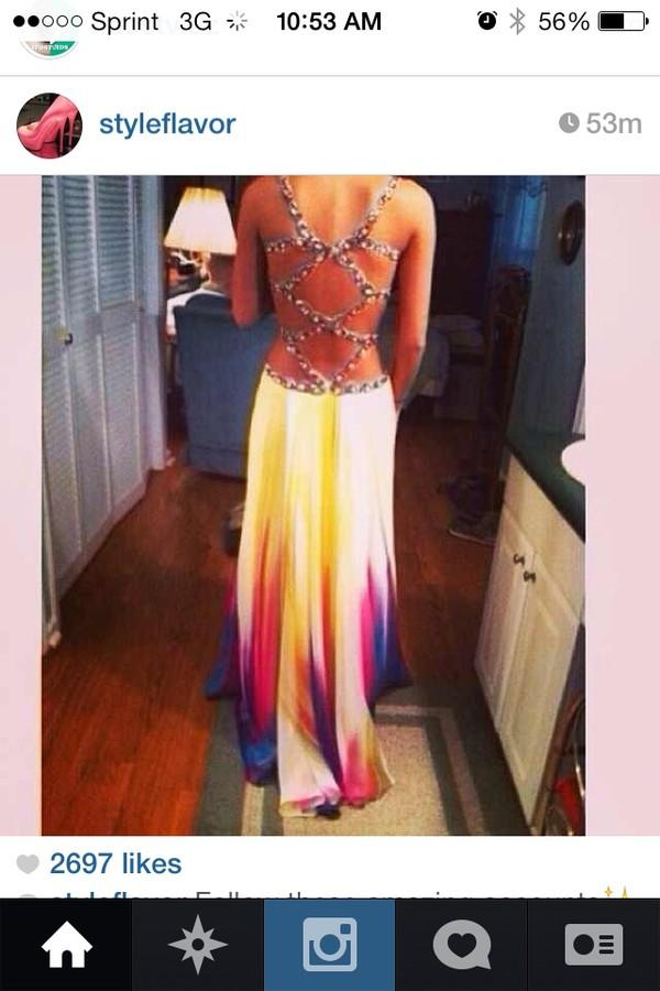 dress prom nice dress long
