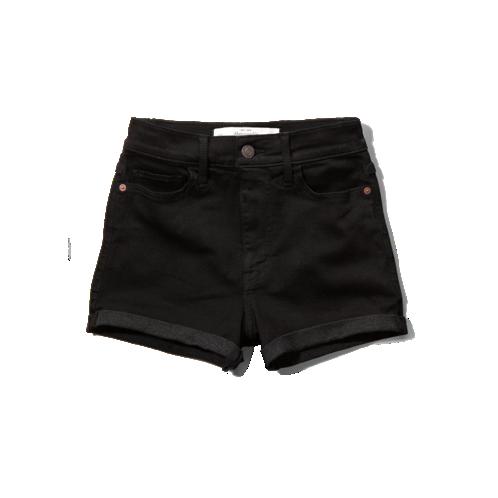 A&f natural waist short