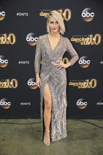 dress gown wrap dress red carpet dress prom dress julianne hough wedding dress sparkly dress