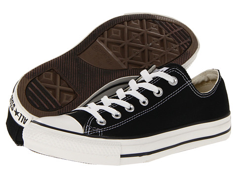 Converse Chuck Taylor® All Star® Core Ox Black - Zappos.com Free Shipping BOTH Ways