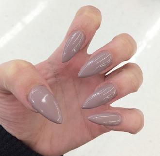 nail polish nails stiletto nails rihanna nails nude nail polish nude nail color