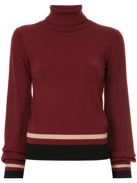 Loveless sweater turtleneck turtleneck sweater women red