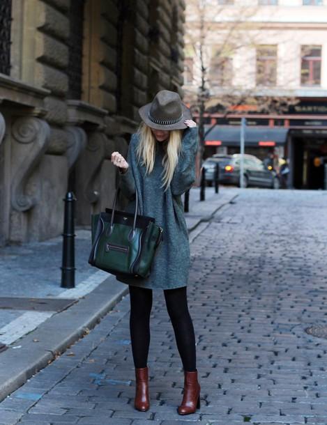 Sweater Dress Hat