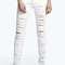 Evie low rise shredded leg skinny jeans
