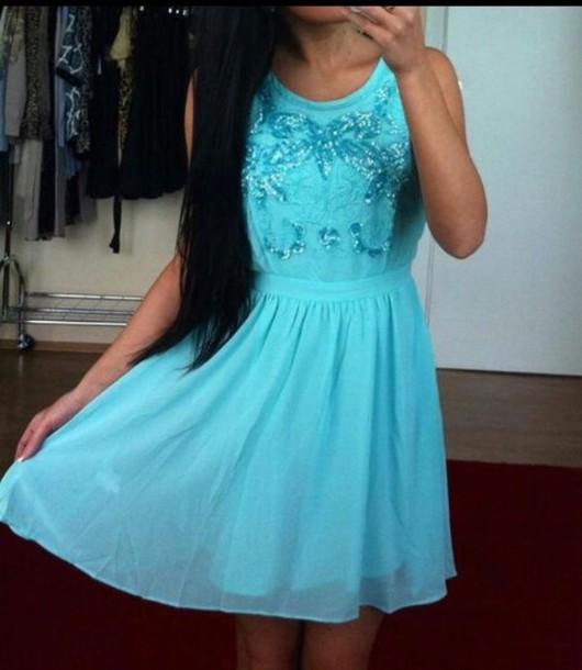 dress clothes blue dress