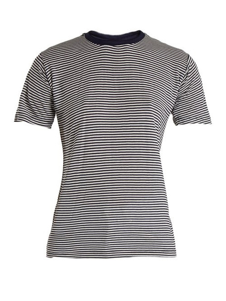 Eve Denim - Alexa Striped Jersey T Shirt - Womens - Blue Multi