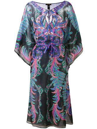 dress sheer women cotton print silk